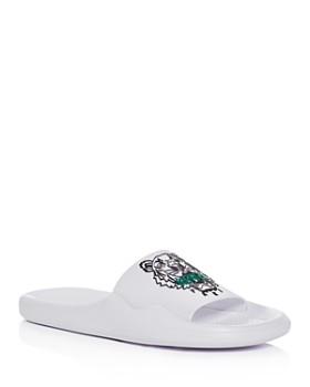 Kenzo - Women's Logo Pool Slide Sandals