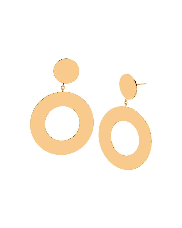 Gorjana Jagger Cutout Drop Earrings BNJB5KRwG