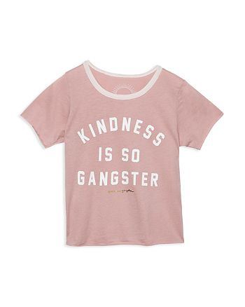 Spiritual Gangster - Girls' Kindness Is So Gangster Tee - Little Kid, Big Kid