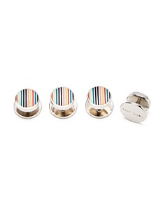 Paul Smith - Signature Stripe Stud Set
