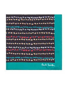 Paul Smith Floral Pocket Square - Bloomingdale's_0
