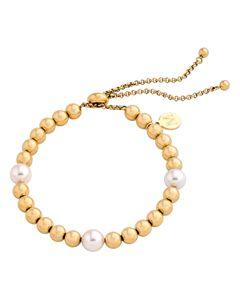 75936cf3f Gucci Sterling Silver Boule GG Charm Bracelet | Bloomingdale's