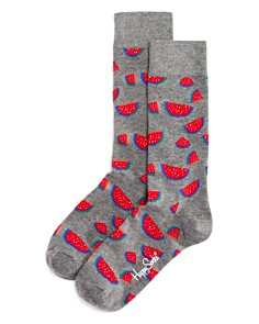 Happy Socks Watermelon-Pattern Socks - Bloomingdale's_0