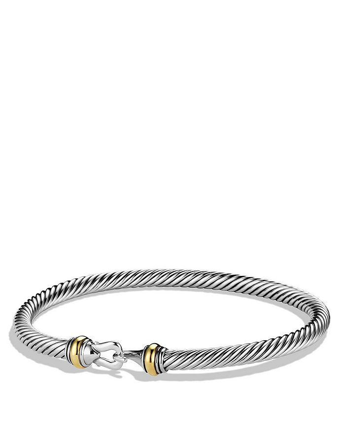 David Yurman - Cable Classic Buckle Bracelet with Gold