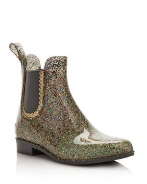 Jack Rogers Women's Sallie Glitter Rain Booties 2994398