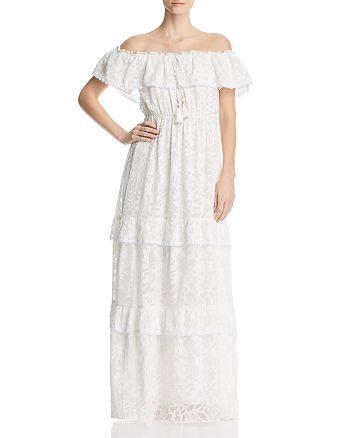 294517ba74782 CATHERINE Catherine Malandrino Virginie Off-the-Shoulder Maxi Dress ...