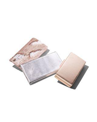 Metallic Foldover Clutch - 100% Exclusive