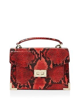 The Kooples - Emily Snake-Embossed Leather Mini Crossbody ... dd695dcc50