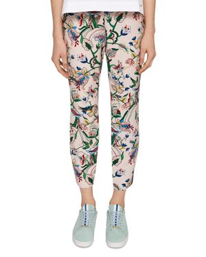 COLOUR BY NUMBERS TACHI PRINTED PANTS