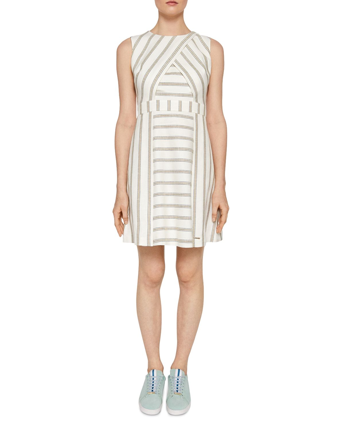 Colour By Numbers Tee Striped Dress by Ted Baker