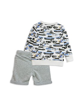 Sovereign Code - Boys' French Terry Car-Print Sweatshirt & Shorts Set - Baby