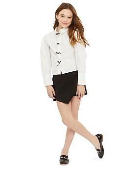 Habitual - Girls' Bridget Tie-Front Shorts - Big Kid