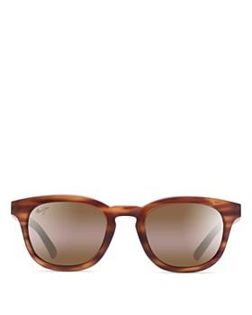 Maui Jim - Women's Koko Head Bi-Gradient Mirrored Round Sunglasses, 48mm