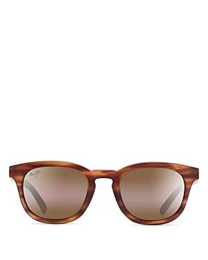 53ccaf4c21 ... Tortoise  UPC 603429044732 product image for Maui Jim Koko Head  Bi-Gradient Mirrored Round Sunglasses