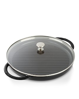 """Staub - Cast Iron 10"""" Round Steam Grill"""