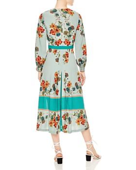 Sandro - Alchimie Floral Midi Dress