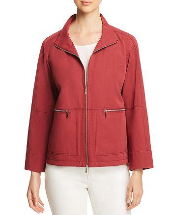 Lafayette 148 New York - Kellen Zip-Front Jacket