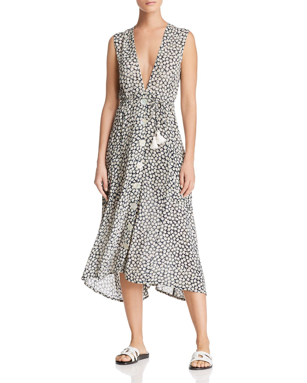Blohm Floral Midi Dress by Faithfull The Brand