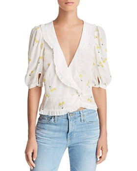 For Love & Lemons - Ashland Wrap Top