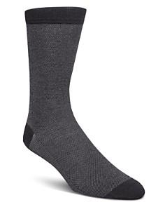 Cole Haan - Piqué Textured Dress Socks