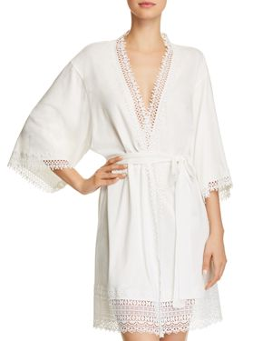 FLORA NIKROOZ EDIE KNIT COVER-UP ROBE