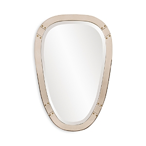 Howard Elliott Tobias Tapered Mirror, 36 X 24 In Silver