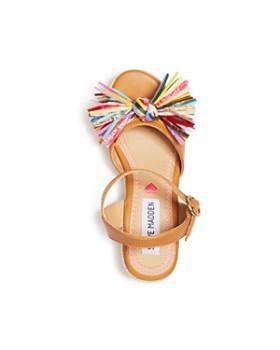 4583504dab12ad ... STEVE MADDEN - Girls  Raffia-Knot Espadrille Sandals - Little Kid