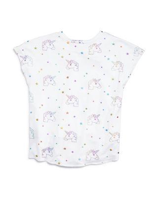terez girls 7 16 on sale bloomingdale s Emoji Faces terez girls metallic rainbow unicorn tee big kid