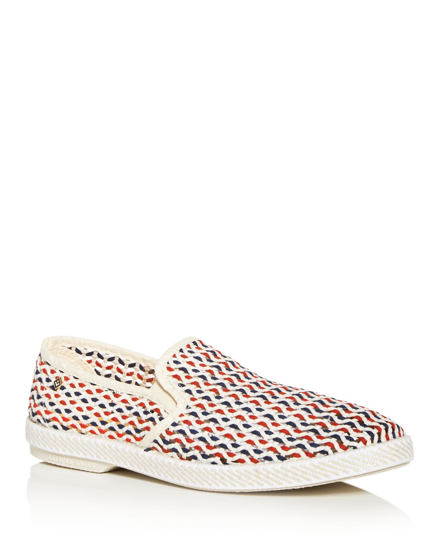 RIVIERAS Men's Napoles-Pablo Open Weave Slip-On Sneakers