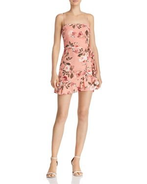 Floral Mini Dress, Blush Floral