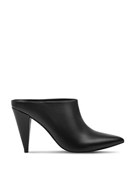Marc Fisher LTD. - Women's Harlie Leather High-Heel Mules
