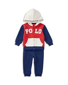 Ralph Lauren Boys' French Terry Zip-Up Hoodie & Sweatpants Set - Baby - Bloomingdale's_0
