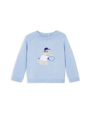 Jacadi Boys' Tennis Pup Intarsia Sweater - Baby 2982154