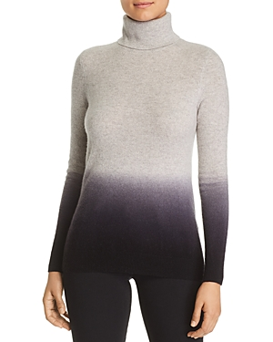 C by Bloomingdale's Dip-Dye Cashmere Turtleneck Sweater - 100% Exclusive