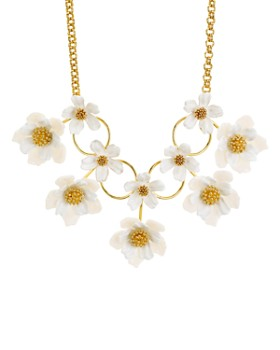 """kate spade new york - Floral Statement Necklace, 14"""""""