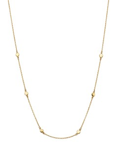 """Moon & Meadow - Disc Chain Necklace in 14K Yellow Gold, 17"""" - 100% Exclusive"""