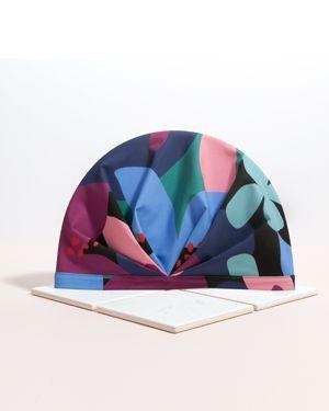 SHHHOWERCAP Nanotech Fabric Turban Shower Cap in The Muse