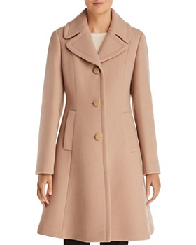 kate spade new york - Notched Collar Coat