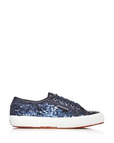 Superga - Women's  Sequined Sneakers - 100% Exclusive