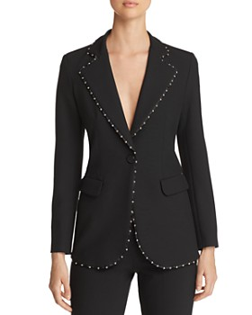 Emporio Armani - Studded Single-Button Blazer