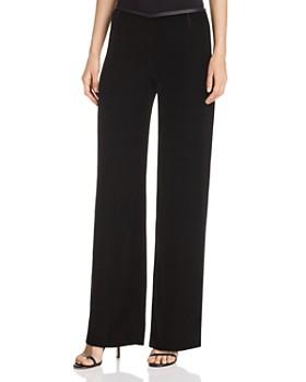 Armani - Wide-Leg Velvet Pants
