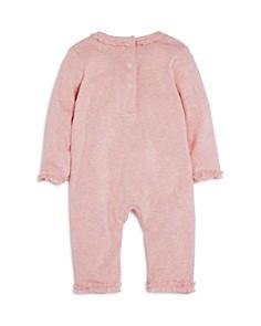 Albetta - Girls' Ruffle-Trim Crochet-Swan Coverall, Baby - 100% Exclusive