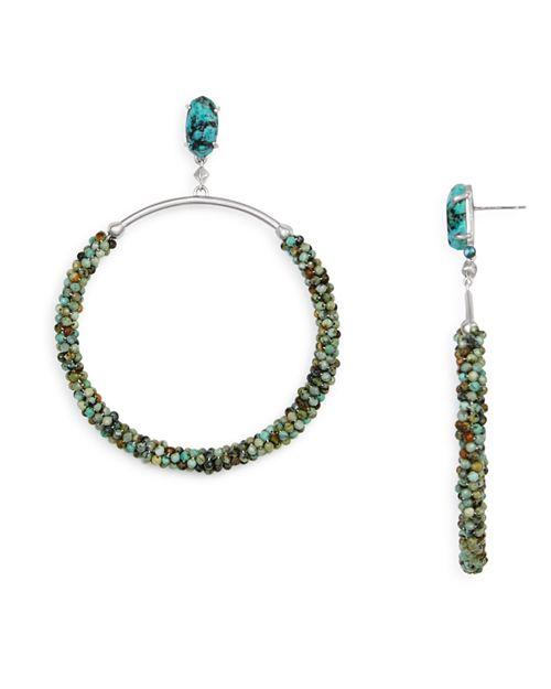 Kendra Scott - Russel Beaded Loop Drop Earrings