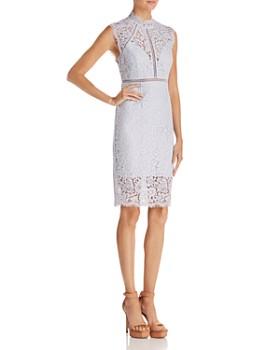 Bardot - Sheer Detail Lace Dress