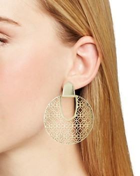 Kendra Scott - Diane Latticework Medallion Drop Earrings