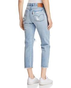 Levi's - Wedgie Straight Jeans in Best Kept Secret