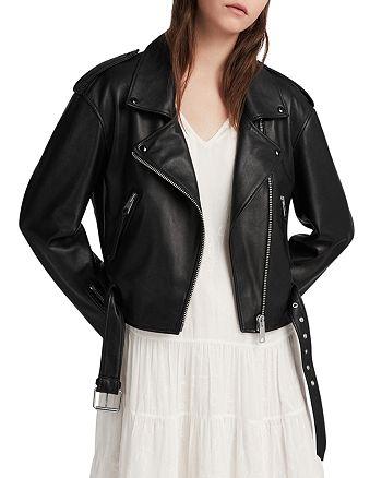 ALLSAINTS - Anderson Leather Biker Jacket