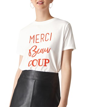 Whistles - Merci Beaucoup Tee