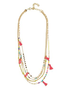 Baublebar Rida Tasseled Layered Necklace, 23