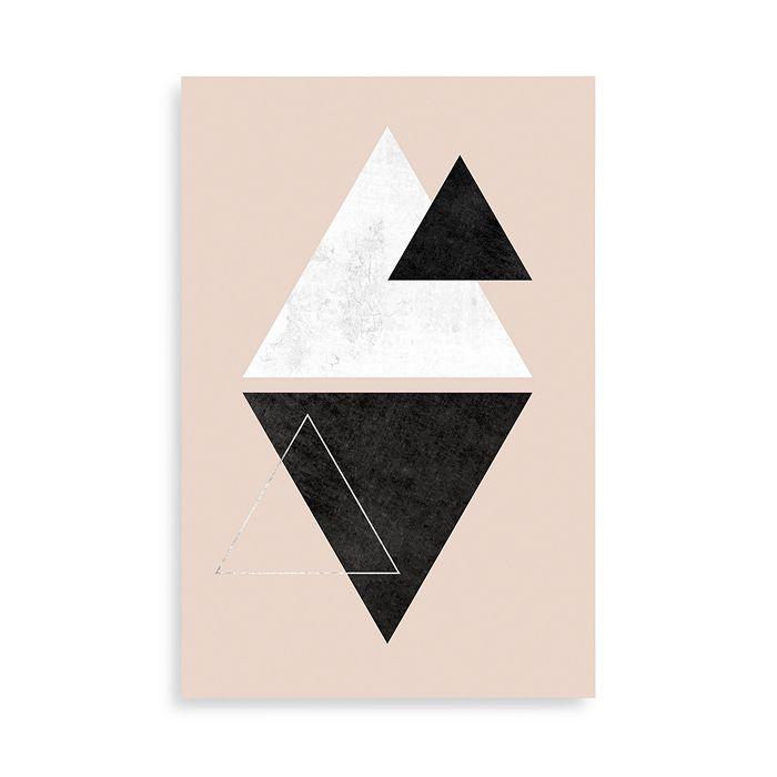 "Art Addiction Inc. - Triangulation Wall Art, 30"" x 20"""